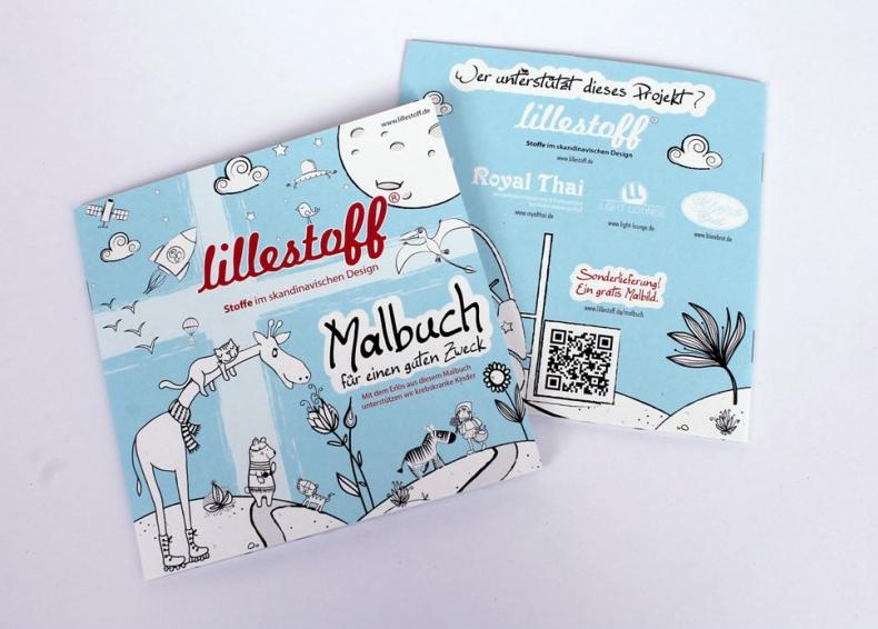 Designermalbuch von Lillestoff