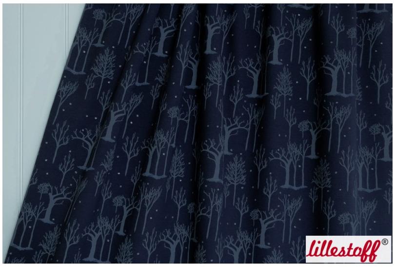 Textildesign Natthimmel von Bernadette Burnett unter dem Label Kluntjebunt