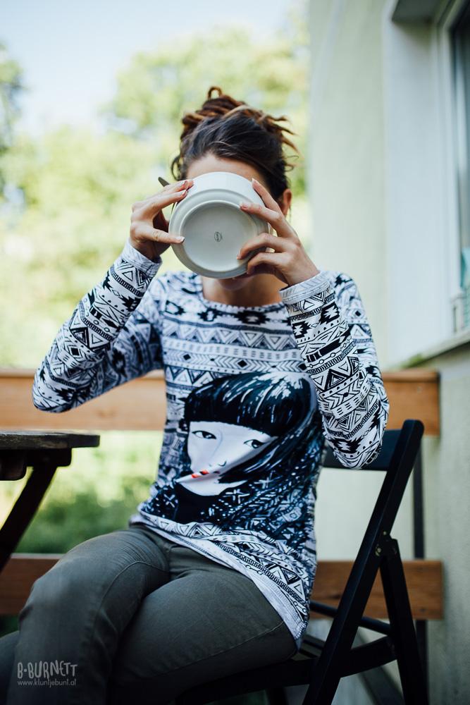 Shirt aus Ethno Love